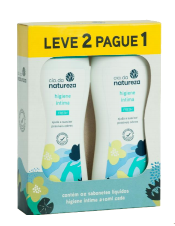 Kit Promo Sabonete Íntimo Fresh Cia. 210ml