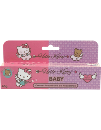 Creme Preventivo de Assaduras Hello Kitty Baby 45g