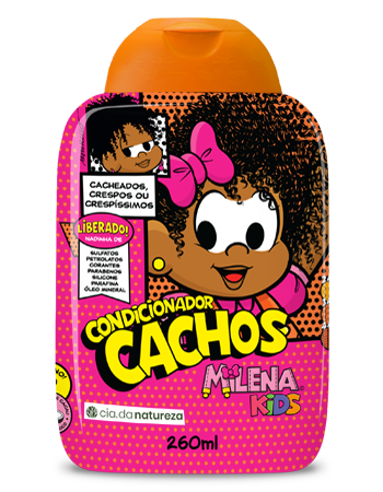 Condicionador Cachos Milena Kids 260ml