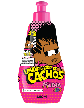 Umidificador de Cachos Milena Kids 260ml